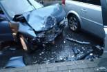 Pięć osób poszkodowanych w wypadku na Garncarskiej