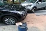 Kolizja dwóch niemieckich aut na Kubika. 45-latka ukarana 300-zł mandatem