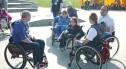 Niepełnosprawni na skateparku