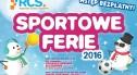 Sportowe Ferie 2016 – cykl bezpłatnych imprez dla dzieci i młodzieży