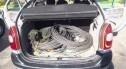 Wpadli ze 180 kg przewodów trakcyjnych skradzionych w Niemczech