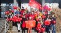 Happening wolontariuszy Szlachetnej Paczki na bolesławieckim Rynku