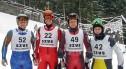 Jeleniogórski policjant Dariusz Gutowski trzeci w slalomie gigancie w Czarnej Górze