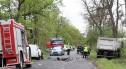 Śmiertelny wypadek: VW zderzył się z ciężarówką. 34-latek zginął na miejscu