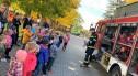 Ewakuacje dwóch przedszkoli w gminie Nowogrodziec. Strażackie ćwiczenia