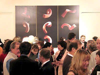 Ludzie w galerii