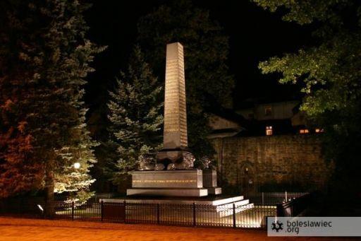 Nocna sesja pomnik Kutuzowa