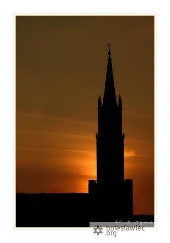 Wieża kościoła MB Nieustającej Pomocy