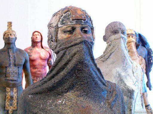Rzeźby Przemysława Lasaka