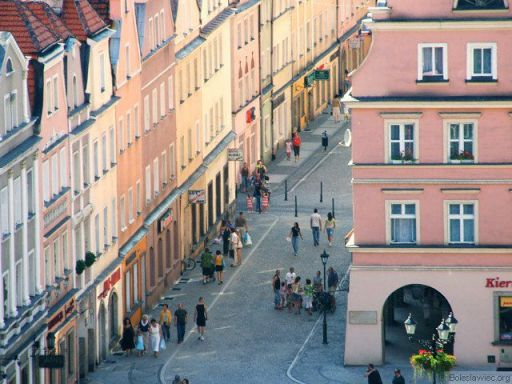Ulica Prusa z lotu ptaka