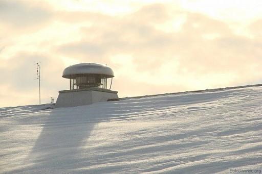 Śnieżny dach