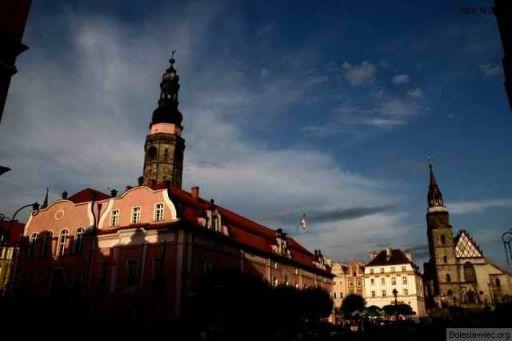 Ratusz i kościoł