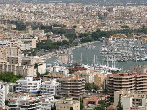 Majorka: port w Palmie