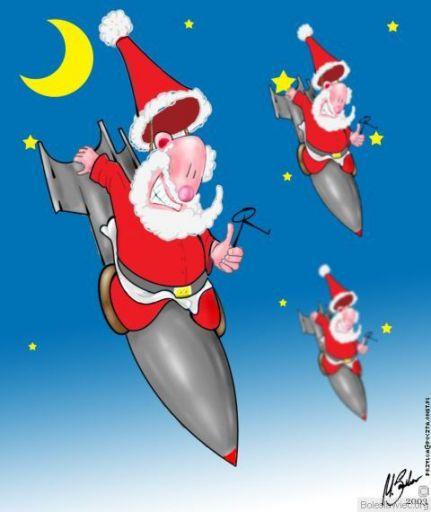 Bombowy Mikołaj :)