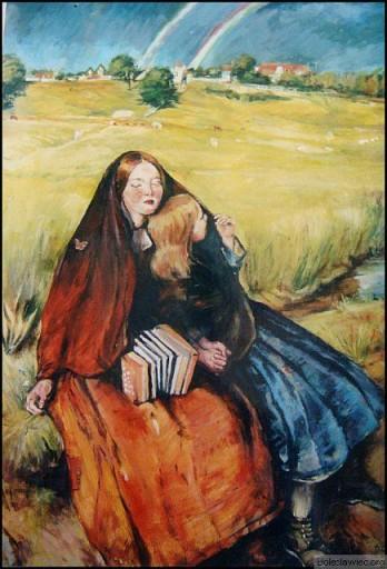 Z cyklu Prerafaelitow