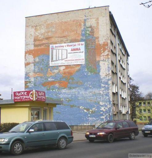 Ul.Żwirki i Wigury vis a vis UM Bolesławiec