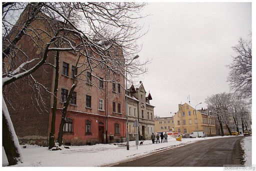 Fragment zabudowań ulicy Polnej