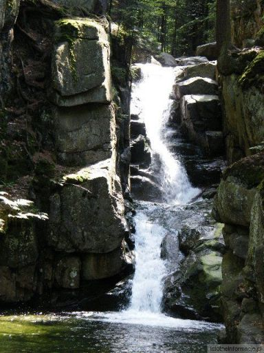 Wodospad podgórny w Przesiece