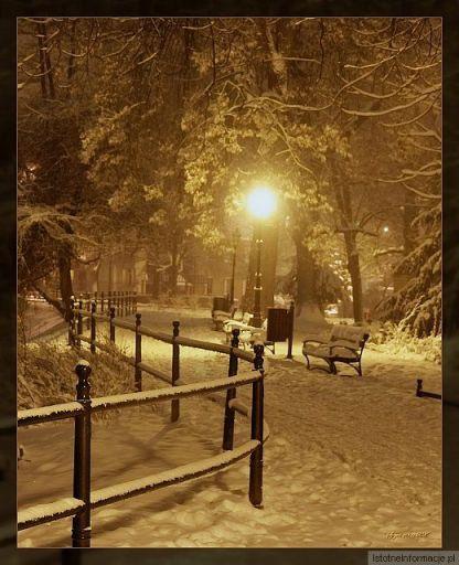 Pejzaż zimowy 3