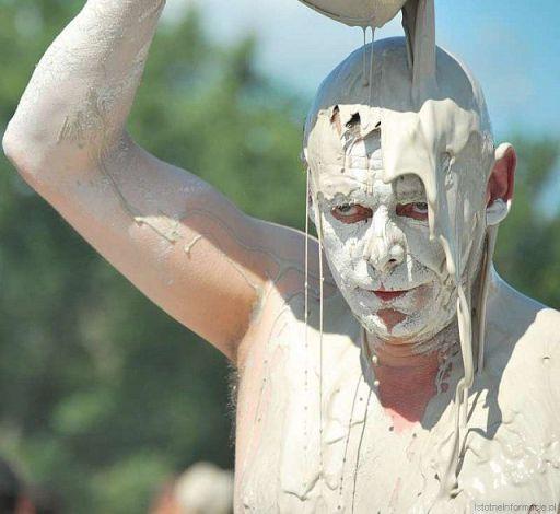 Lanie gliny na Woodstock