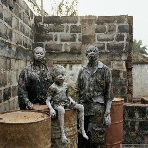 Afrykańskie glinoludy ;)