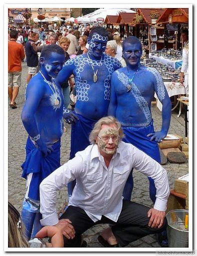 Ja i niebiescy