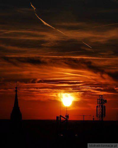 Sunset of Boleslawiec