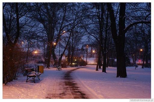 Zimowym wieczorem