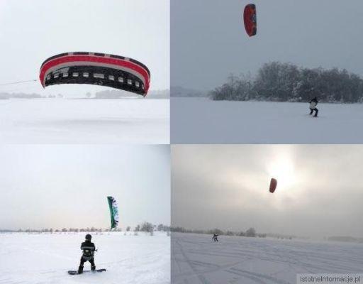Czy ktoś jeszcze w Bolesławcu bawi się w Snowkite - jak coś to p