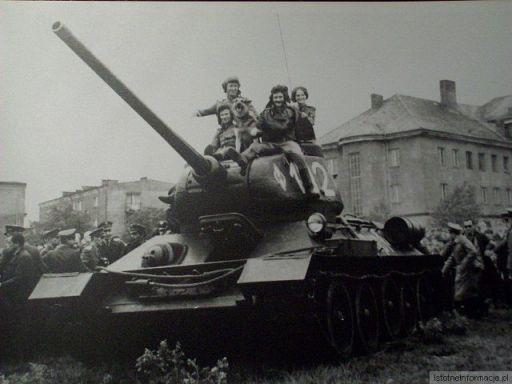 """""""Pancerniacy"""" w Bolesławcu. 1968r"""