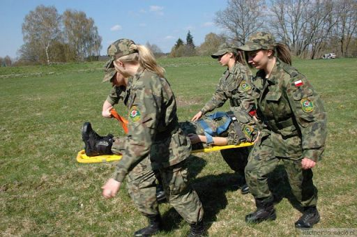 Dziewczyny w wojsku też dają rade