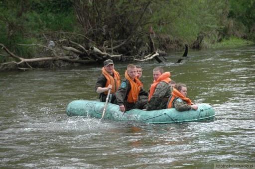 Spływ pontonowy na Bobrze 2010