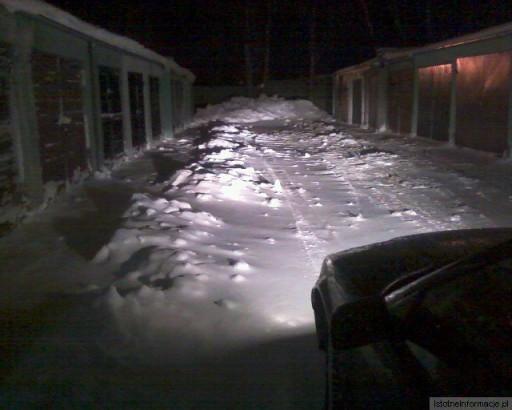 Wjazd do garaży
