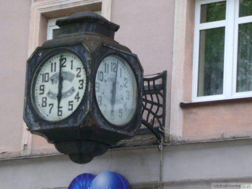 Nie ma to jak zegar za oknem