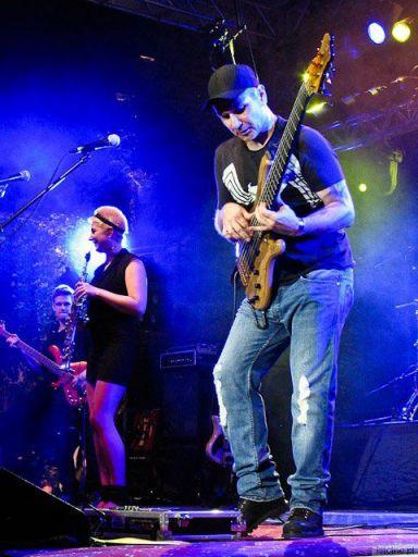 Blues nad Bobrem 2011, w  tym roku główną atrakcją był koncert W