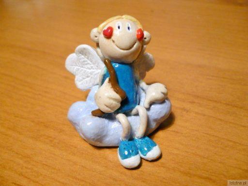 Aniołek z ceramiki (kurs BOK-MCC)