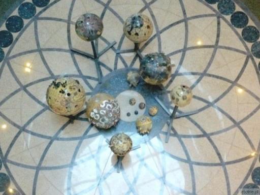 Planety z ceramiki w BOK-MCC