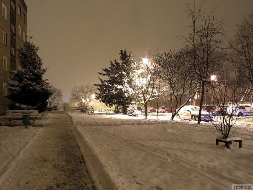 Zima na ulicy Kosiby :-)