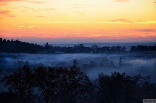 mgła  miasto  otuliła