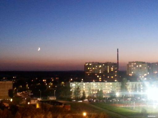 Księżyc nad Przylesiem
