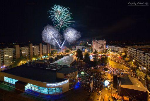 BŚC 2015 fajerwerki :)