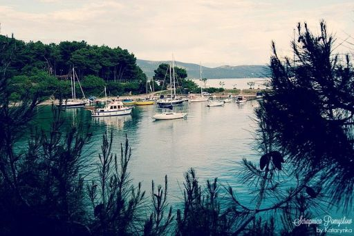 Podróże - wyspa Krk, miasto Krk
