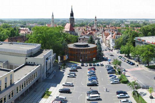 Gigapanorama Bolesławiec: pl. Piłsudskiego, Rynek