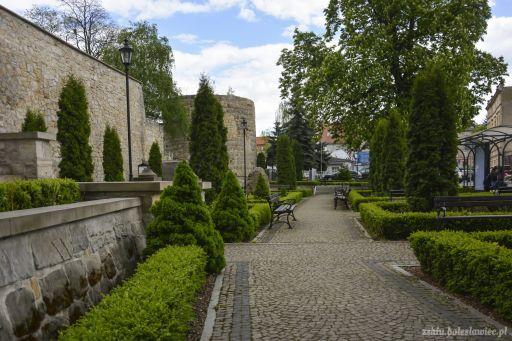 Planty przy ulicy Kubika w Bolesławcu (7.05.2015 r.)