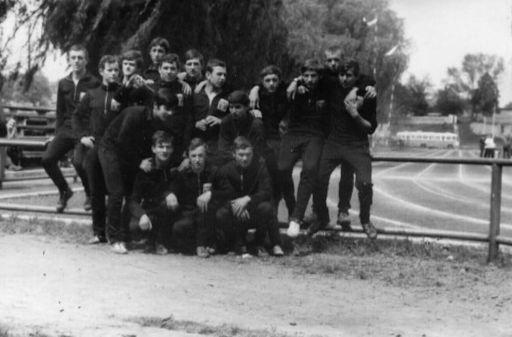 Uczestnicy ZSB w Spartakiadzie. (27.06.1969)
