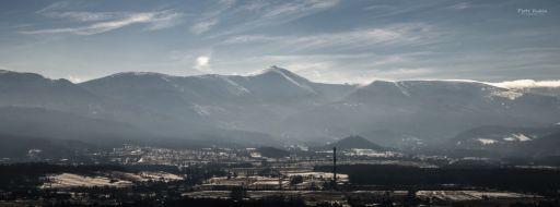 Karkonosze panorama