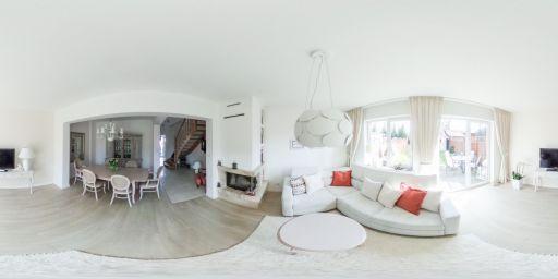 Wnętrze mieszkania zaprojektowanego przez Wiolettę Cybulską