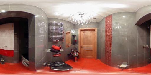 Wnętrze łazienki zaprojektowanej przez Wiolettę Cybulską