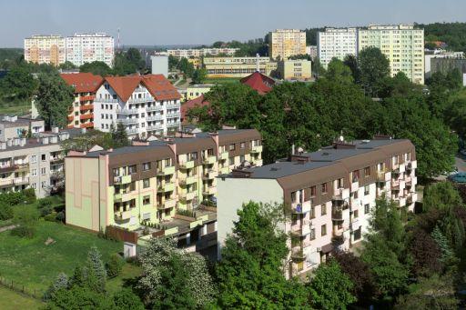 Gigapanorama Bolesławiec: osiedle Piastów