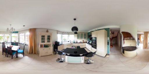 Wnętrze kuchni zaprojektowanej przez Wiolettę Cybulską